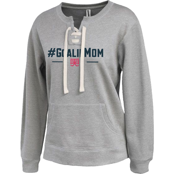 #GoalieMom Crew Neck Sweatshirt