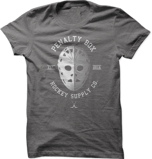 Goalie Mask Tee