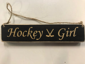 Hockey Girl Ornament