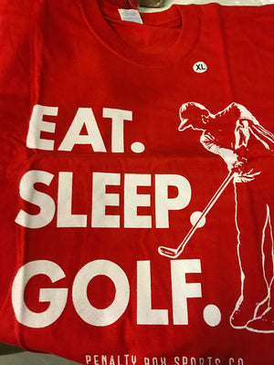 Eat, Sleep... T-Shirt (Red)