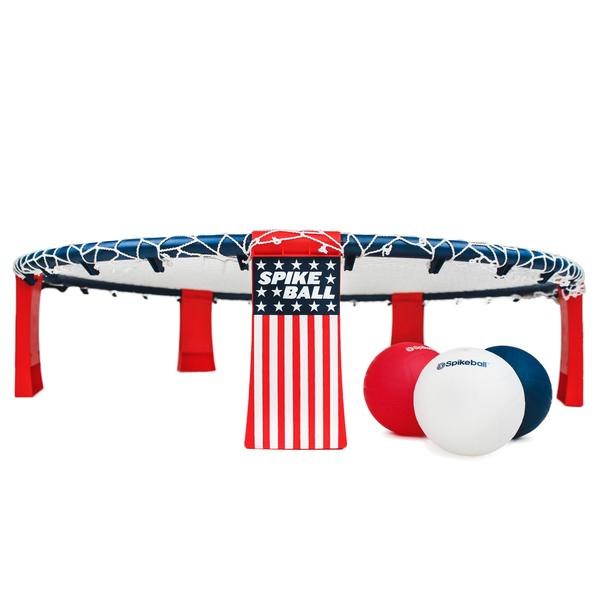 SpikeBall Red, White, and Blue Set