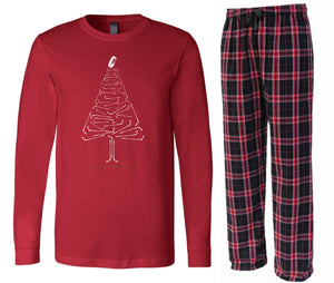Red Christmas PJ Set