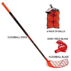 Accufli Xoro Combo Floorball Package