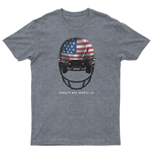 USA Football Helmet Tee