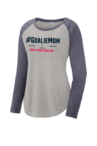 #GoalieMom Don't Puck With Me Raglan