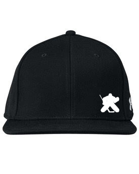 Flat Brim Fitted Goalie Hat