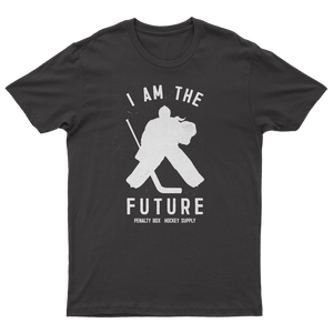 """I Am The Future"" Goalie Girl Tee"
