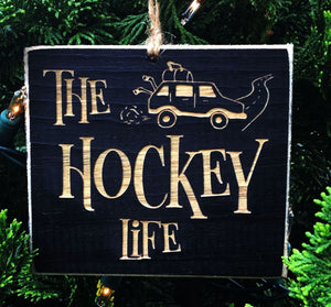 The Hockey Life Ornament