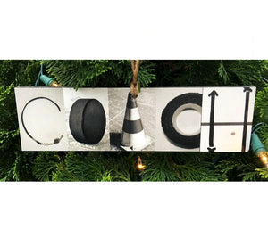 Coach Montage Ornament