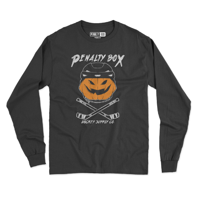 Jack-O-Hockey Long Sleeve Tee