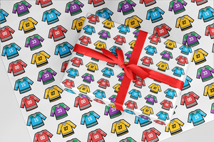 Hockey Jerseys Wrapping Paper