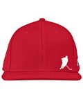 Flat Brim Fitted Player Hat