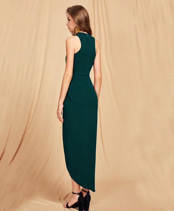 Green Long Party Dress