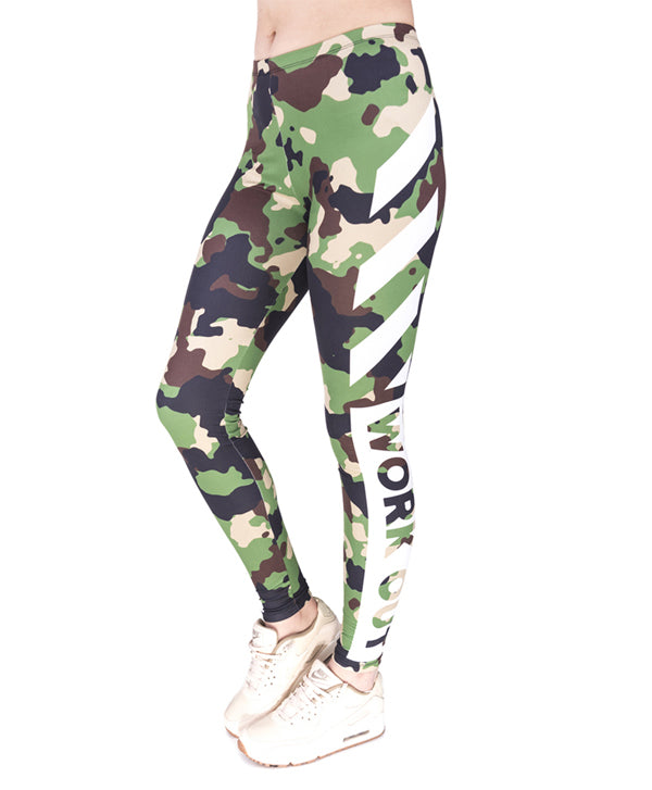 Work Out Camouflage Legging