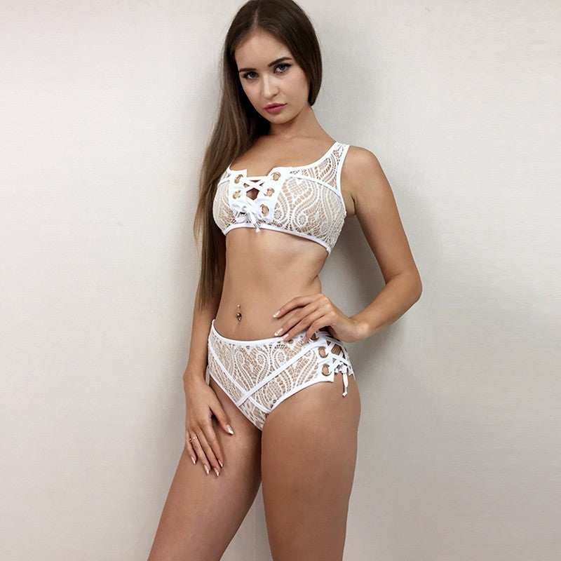 Amber High Waist Bikini Set