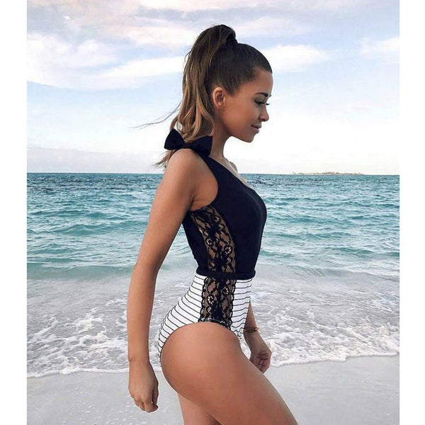 Jamie Black One Piece