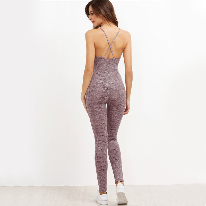 Grey Casual Jumpsuit