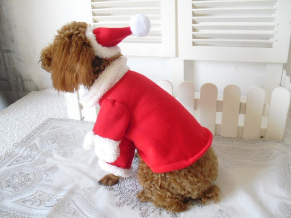 Christmas Cat & Dog Costume