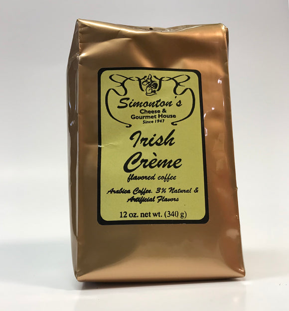 Simonton's Irish Cream Ground Coffee