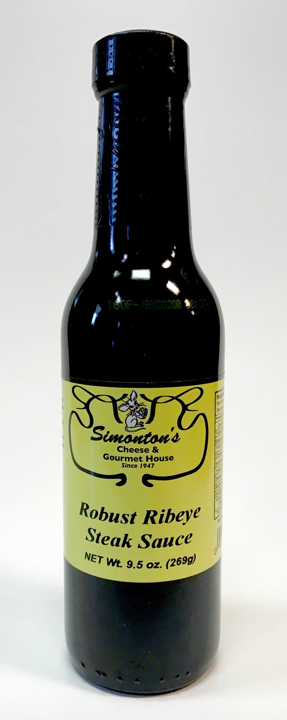 Simonton's Robust Ribeye Steak Sauce