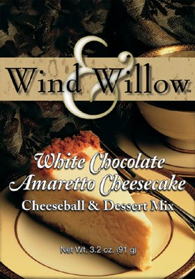 Wind & Willow White Chocolate Amaretto Cheeseball & Dessert Mix