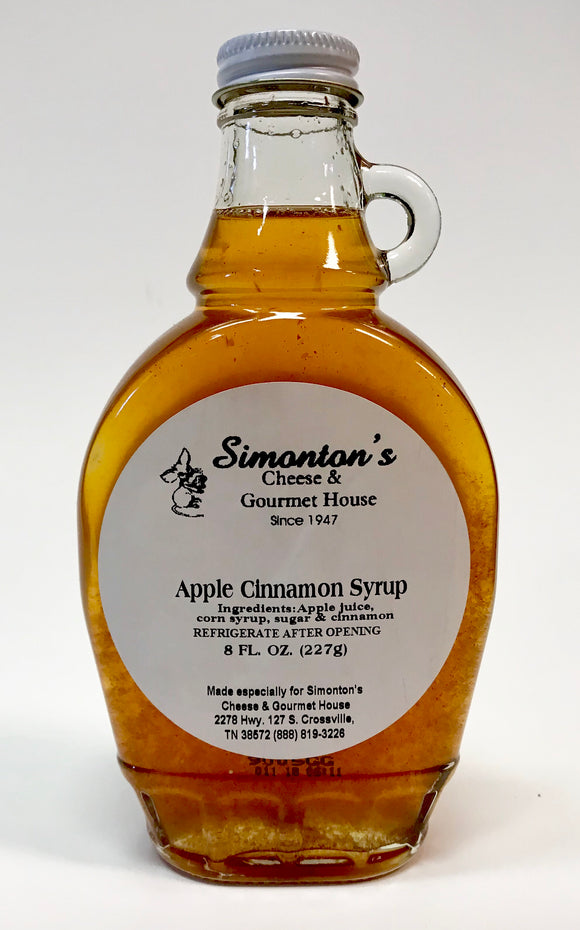 Simonton's Apple Cinnamon Syrup