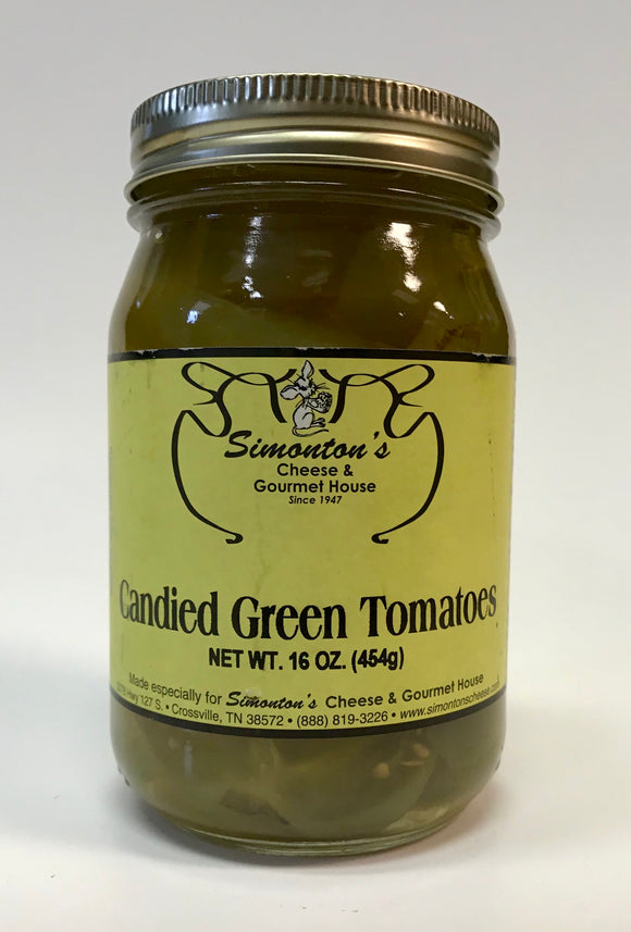 Simonton's Candied Green Tomatoes