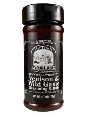 Lynchburg Whiskey Venison & Wild Game Seasoning