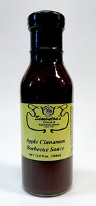 Simonton's Apple Cinnamon Barbecue Sauce