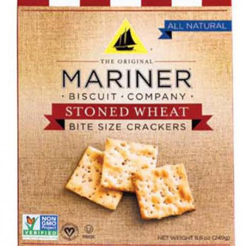 Mariner Stoned Wheat Bite Size Crackers