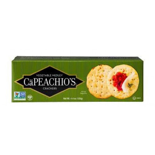 Capeachio's Vegetable Medley Crackers