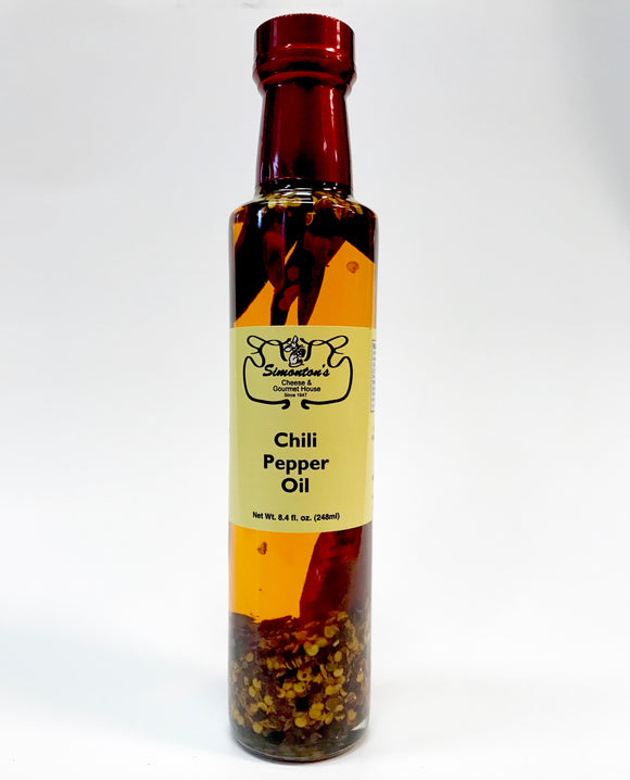 Simonton's Chili Pepper Oil