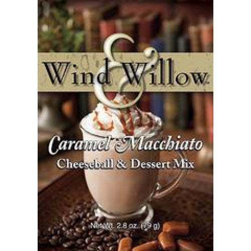 Wind & Willow Caramel Macchiato Cheeseball & Dessert Mix