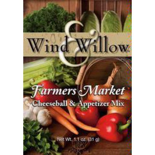Wind & Willow Farmer's Market Cheeseball & Appetizer Mix