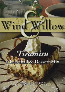 Wind & Willow Tiramisu Cheeseball & Dessert Mix