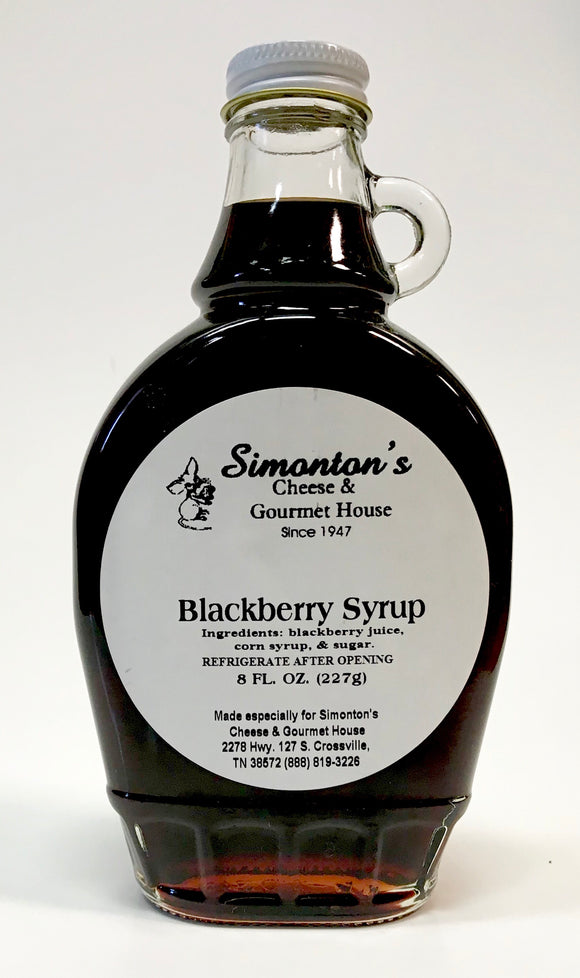 Simonton's Blackberry Syrup