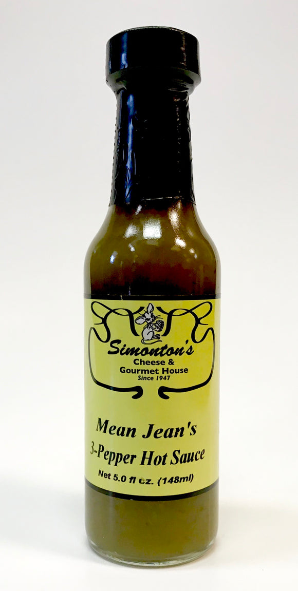 Simonton's Mean Jean's 3 Pepper Hot Sauce