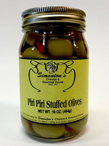 Simonton's Piri Piri Pepper Stuffed Olives