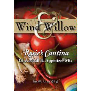 Wind & Willow Rosie's Cantina Cheeseball & Appetizer Mix