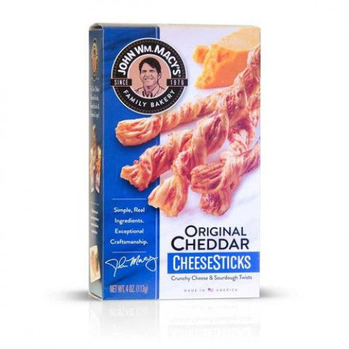 John Wm Macy's Original Cheddar Cheese Sticks