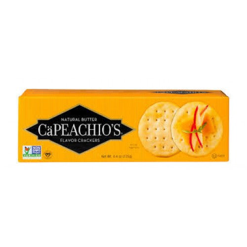 CaPeachios Natural Butter Cracker