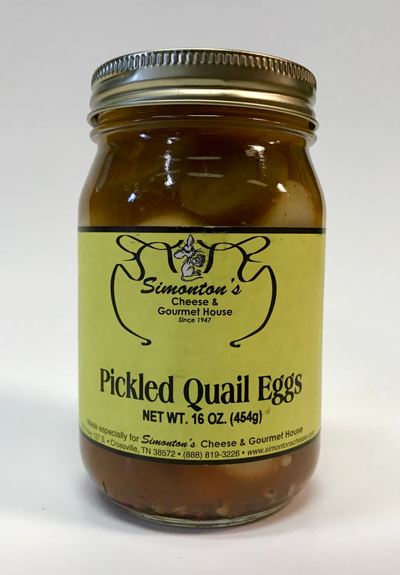 Simonton's Pickled Quail Eggs