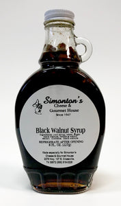 Simonton's Black Walnut Syrup