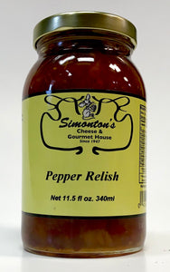 Simonton's Pepper Relish