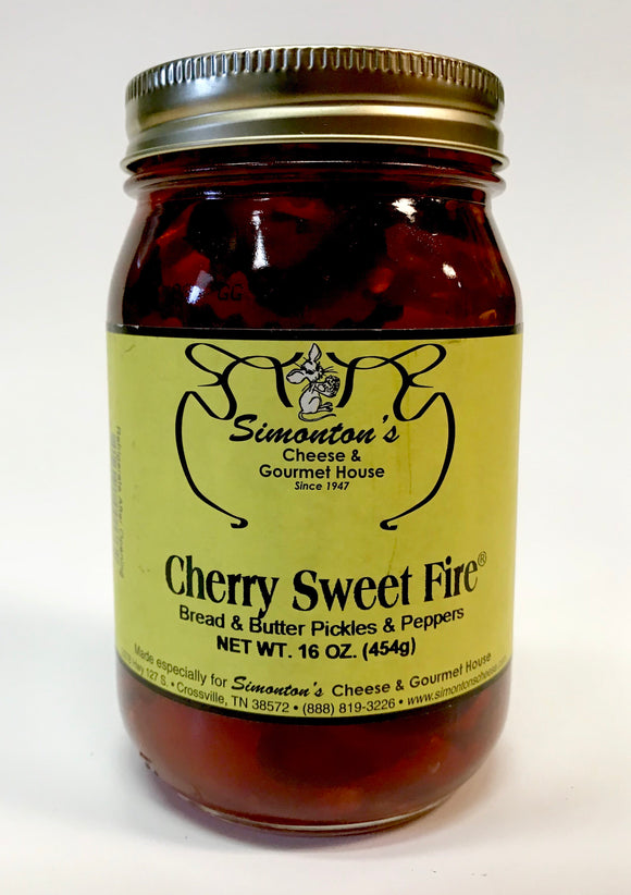 Simonton's Cherry Sweet Fire Pickles
