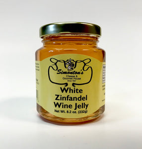Simonton's White Zinfandel Wine Jelly