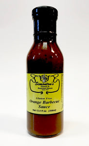Simonton's Orange BBQ Sauce