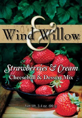 Wind & Willow Strawberries & Cream Cheeseball & Dessert Mix