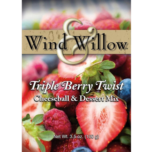 Wind & Willow Triple Berry Twist Cheeseball & Dessert Mix