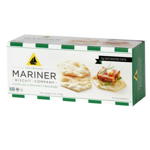 Mariner Olive Oil & Sea Salt Crackers